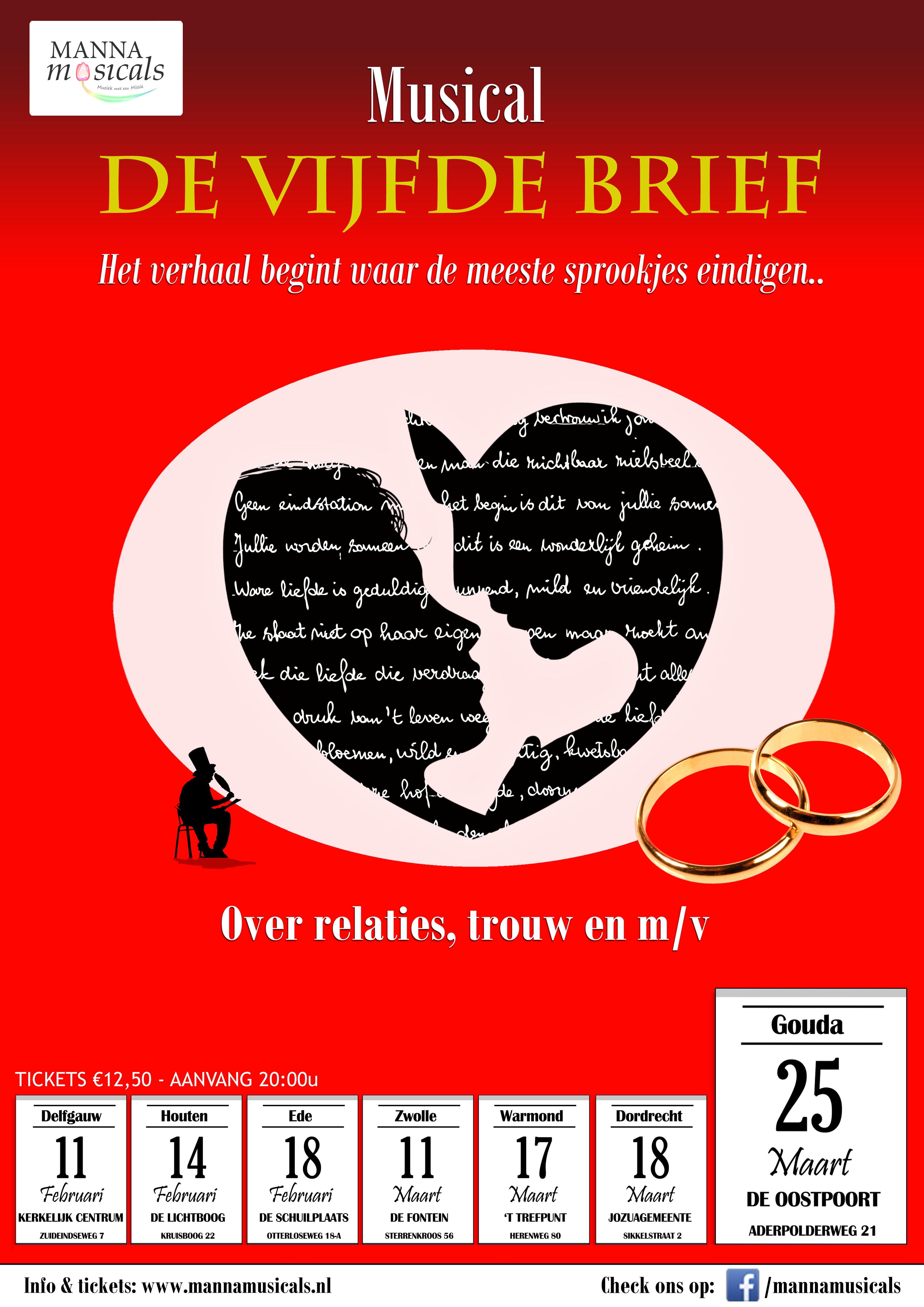 VijfdeBrief Poster Gouda